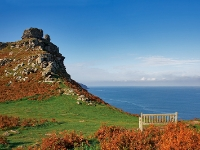 England, Valley Of Rocks, Exmoor