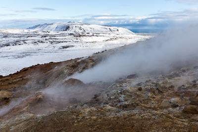 Geothermalgeboiet Seltun