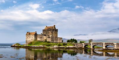 Eines geht natürlich gar nicht - Schottlandfotos ohne Eilean Donan Castle :D