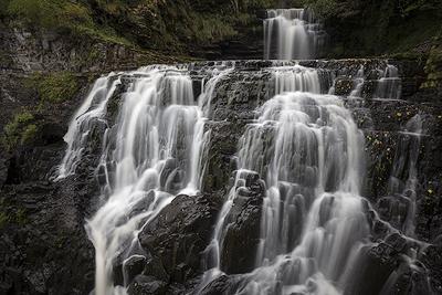 Leatlt Falls, Isle of Skye, Schottland